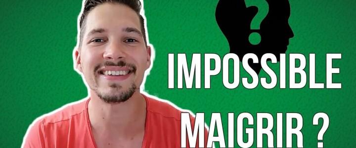 Impossible de Maigrir ? (Vidéo)